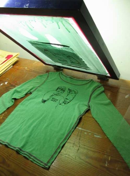 silkscreening tshirts