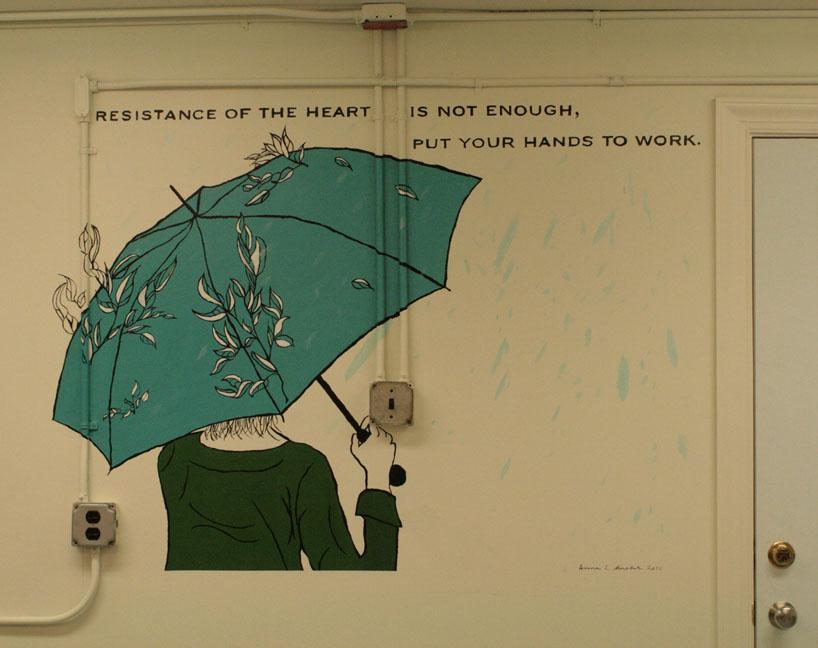 Anna's mural!